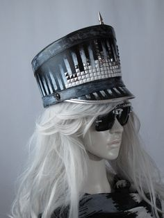 f14a14805d7 Burning man marching band hat festival steampunk costume Custom Made Hats