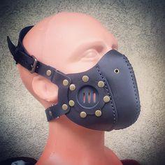 #Cyberpunk #CyberGoth #postapocalyptic #postapocalypse #steampunk #steampunkmask #leathermask #handmade #LARP #dieselpunk #leather #Darkart #costume #burningman