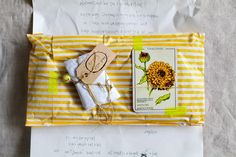 Cute gift wrap.. I want to do this for the next birthday girl