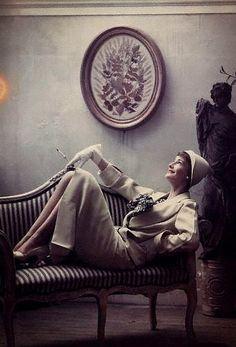 Wenda Parkinson by Norman Parkinson, 1950