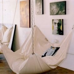 I Would love to read in this hammock all day.