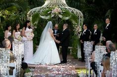 crystal wedding decorations - Google Search