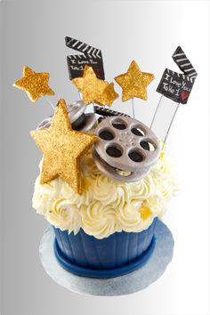 Movie Theme Giant Cupcake