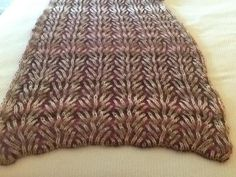 """You have to see Shawl - from """"knitting fresh brioche"""" by Pearl05!"""