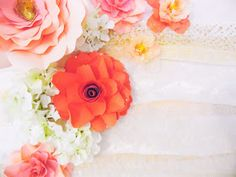 TO VIEW THIS POST ON OUR NEW CORRECT SITE PLEASE CLICK HERE                 When it comes to backdrop paper flowers, making the flowe...