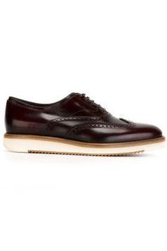 Salvatore Ferragamo 'Love' Derby Shoes https://modasto.com/salvatore-ve-ferragamo/erkek-ayakkabi/br2394ct82 #erkek