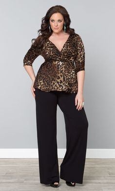 26f59e6ed2a9e Stay stylishly comfy in our plus size Peyton Palazzo Pants  on sale! Browse  our