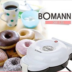 Home Baking Bomann Donut Maker DM1120 220V 60Hz * This is an Amazon Affiliate link. Click on the image for additional details.