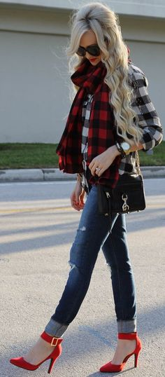 Buffalo Plaid... by A spoonful of Style