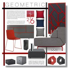 Segis | #Dragonfly chair in red, by Odo Fioravanti design. A home decor collage from October 2014 featuring outdoor wall decor, stainless steel carafe and red throw pillows.