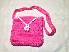 Borsa borsetta bag bambina fatta a mano all'uncinetto in cotone