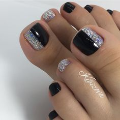 Pretty Toe Nails, Cute Toe Nails, Pretty Nail Art, Fancy Nails, Gorgeous Nails, Pretty Toes, Gel Toe Nails, Feet Nails, Toe Nail Art