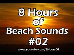 8 Hours of relaxing holiday beach sounds, ocean sounds and a distant boat passing by. If you listen to this during sleep or meditation you will feel peaceful and calm. Great for tinnitus, meditation, yoga, when you study, go to sleep, have insomnia or have sleep deprivation.  Please like, subscribe and comment if you enjoyed this video. It will really help me out a lot. :)  http://www.youtube.com/subscription_center?add_user=8hoursof