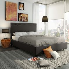 amisco gastown bed 12511 furniture bedroom urban collection contemporary amisco bridge bed 12371 furniture bedroom urban