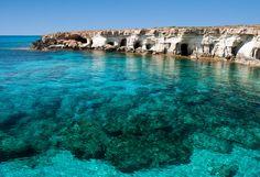 Побережье возле Айя-Напы, Кипр