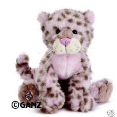 Webkinz Strawberry Cloud Leopard