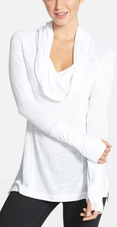 comfy #white cowel neck pullover http://rstyle.me/n/nsf9zr9te
