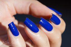 GA-DE Crystallic - Melody Blue 38 Nail Polish, Nail Art, Nails, Beauty, Blue, Finger Nails, Ongles, Nail Polishes, Polish