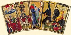 15th Century cards from Florence
