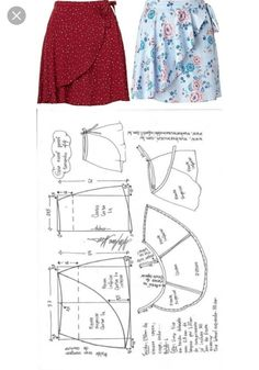 12 Enchanting Sewing Patterns Clone Your Clothes Ideas Source by woggle idea sewing Skirt Patterns Sewing, Sewing Patterns Free, Sewing Tutorials, Clothing Patterns, Sewing Projects, Diy Clothing, Sewing Clothes, Fashion Sewing, Diy Fashion