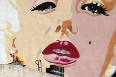 A Marilyn Mural in Washington, D.C.