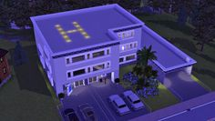 Community lots - DescargasSims-CC Functional HOSPITAL