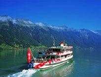 Cruises on Lake Thun and Brienz Switzerland