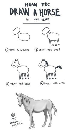 How to: Draw a horse