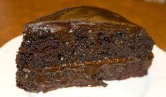 Torta de chocolate húmeda