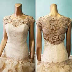 Be a Blushing Bride Bridal Gowns, Wedding Gowns, Drop Waist, Ready To Wear, Couture, Bride, Elegant, Lace, Illusion