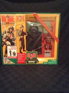 NIB Timeless Collection Anniversary Edition GI Joe 3rd In A Series Action Figure #Hasbro
