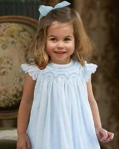 Princess Charlotte @ 3 yrs.
