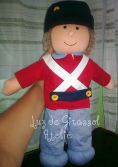 Toy soldier doll