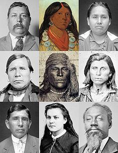 Muscogee Creek Indians -They were descendants of the Mississippian culture peoples, who built earthwork mounds at their regional chiefdoms located throughout the Mississippi River valley and its tributaries
