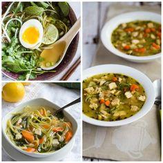 Kalyn's Kitchen®: Low-Carb Recipe Love: The BEST Low-Carb Zucchini Noodle Soups