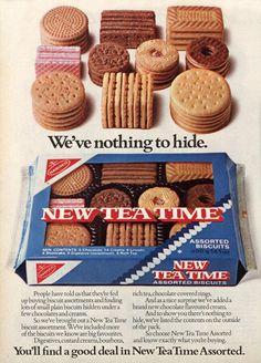 Nabisco Tea Time Cookies Ad