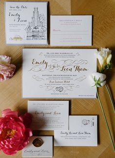 Emily & Leon's ravishing Four Seasons wedding featured on Style Me Pretty. Photos by Brian Hatton Photography. - Lion In The Sun Park Slope