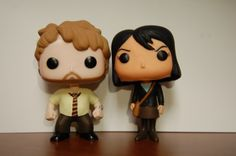 Custom POPs Andy Dwyer and April Ludgate Parks by POPperfulWeak