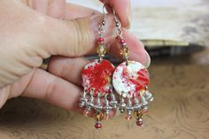 Rustic Earrings Gypsy Earrings Boho Earrings by JustSouthOfUrban