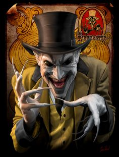 'The Ringmaster' by Tom Wood. Click to view large size.