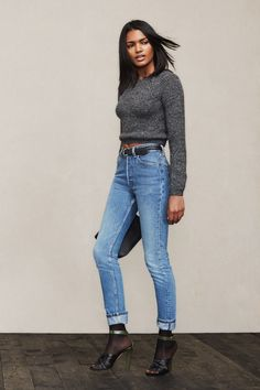 When in doubt, jeans and a sweater for the win. The Andes Alpaca Sweater is just the perfect little cropped guy to wear all winter long. It's made in LA from the softest alpaca wool that's hand-sorted in the Peruvian highlands.https://www.thereformation.com/products/andes-sweater-black-melange?utm_source=pinterest&utm_medium=organic&utm_campaign=PinterestOwnedPins
