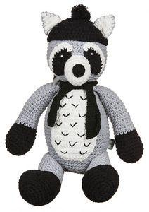 Image of Crochet Redman Racoon