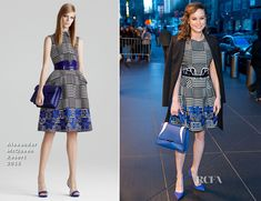 Brie Larson In Alexander McQueen – The Tonight Show Starring Jimmy Fallon