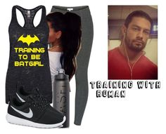"""""""Training With Roman"""" by black-onyxx ❤ liked on Polyvore featuring Talula and NIKE"""