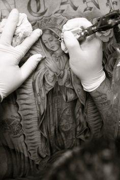 La virgen de Guadalupe tattoo