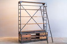 Ormo industrial bookshelf