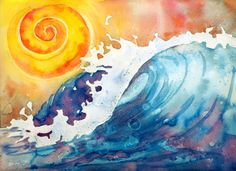Sun and waves