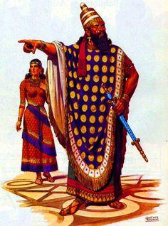 José Luis Salinas. The Assyrian king.