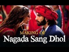 Nagada Sang Dhol Song Making - Ram-leela Sanjay Leela Bhansali, Song Of The Year, Hobbies And Interests, We Movie, Song Artists, Ranveer Singh, Tough Times, Hindi Movies, Deepika Padukone