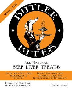 Dog Treats Made in USA All Natural Beef Liver Treats Butler Bites by StolaStore on Etsy